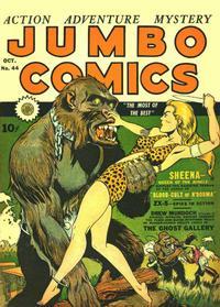 Cover Thumbnail for Jumbo Comics (Fiction House, 1938 series) #44