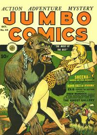 Cover Thumbnail for Jumbo Comics (Fiction House, 1938 series) #44