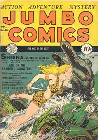 Cover Thumbnail for Jumbo Comics (Fiction House, 1938 series) #46