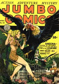 Cover Thumbnail for Jumbo Comics (Fiction House, 1938 series) #50