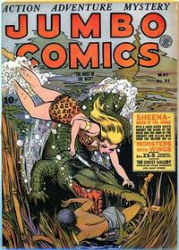 Cover for Jumbo Comics (Fiction House, 1938 series) #51