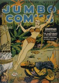 Cover Thumbnail for Jumbo Comics (Fiction House, 1938 series) #64