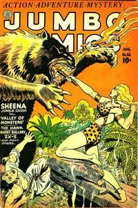 Cover Thumbnail for Jumbo Comics (Fiction House, 1938 series) #66