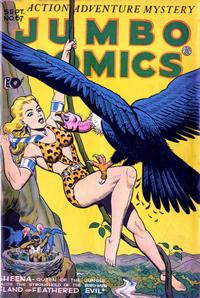 Cover Thumbnail for Jumbo Comics (Fiction House, 1938 series) #67
