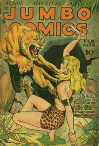 Cover Thumbnail for Jumbo Comics (Fiction House, 1938 series) #72