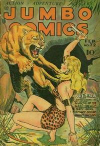 Cover Thumbnail for Jumbo Comics (Fiction House, 1938 series) #72