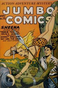 Cover Thumbnail for Jumbo Comics (Fiction House, 1938 series) #75