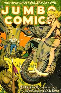 Cover for Jumbo Comics (Fiction House, 1938 series) #79