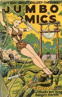 Cover Thumbnail for Jumbo Comics (Fiction House, 1938 series) #81