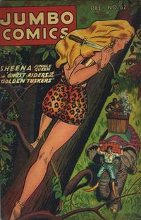 Cover Thumbnail for Jumbo Comics (Fiction House, 1938 series) #82