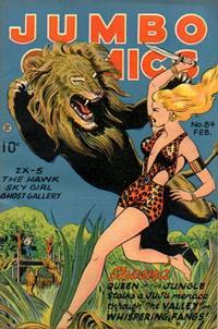 Cover Thumbnail for Jumbo Comics (Fiction House, 1938 series) #84