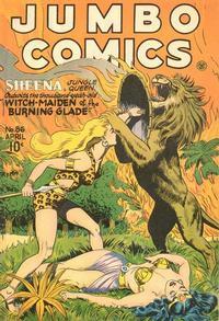 Cover Thumbnail for Jumbo Comics (Fiction House, 1938 series) #86