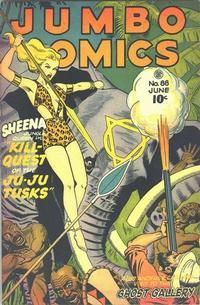 Cover Thumbnail for Jumbo Comics (Fiction House, 1938 series) #88