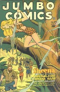 Cover Thumbnail for Jumbo Comics (Fiction House, 1938 series) #89