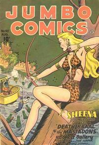 Cover Thumbnail for Jumbo Comics (Fiction House, 1938 series) #90