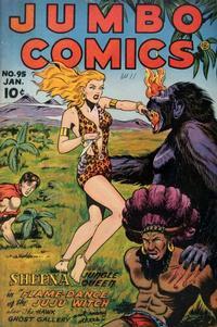 Cover Thumbnail for Jumbo Comics (Fiction House, 1938 series) #95