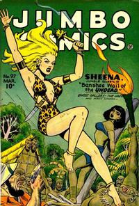 Cover Thumbnail for Jumbo Comics (Fiction House, 1938 series) #97