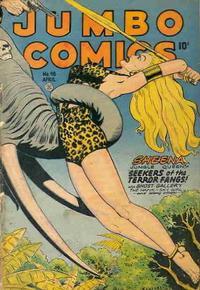 Cover Thumbnail for Jumbo Comics (Fiction House, 1938 series) #98
