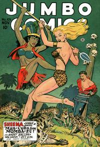 Cover Thumbnail for Jumbo Comics (Fiction House, 1938 series) #105