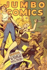 Cover Thumbnail for Jumbo Comics (Fiction House, 1938 series) #106