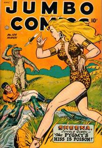 Cover Thumbnail for Jumbo Comics (Fiction House, 1938 series) #109