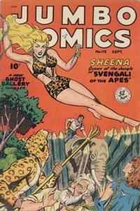 Cover Thumbnail for Jumbo Comics (Fiction House, 1938 series) #115