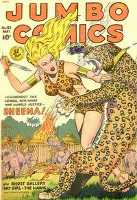 Cover Thumbnail for Jumbo Comics (Fiction House, 1938 series) #123