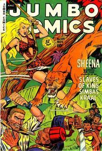 Cover Thumbnail for Jumbo Comics (Fiction House, 1938 series) #129