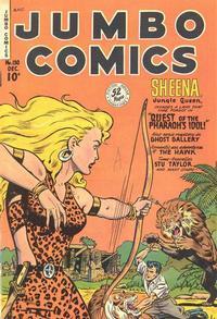 Cover Thumbnail for Jumbo Comics (Fiction House, 1938 series) #130