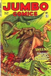 Cover Thumbnail for Jumbo Comics (Fiction House, 1938 series) #146