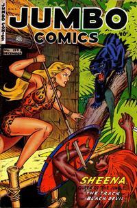 Cover Thumbnail for Jumbo Comics (Fiction House, 1938 series) #154