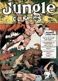 Cover Thumbnail for Jungle Comics (Fiction House, 1940 series) #1