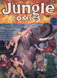 Cover Thumbnail for Jungle Comics (Fiction House, 1940 series) #2