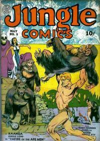 Cover Thumbnail for Jungle Comics (Fiction House, 1940 series) #5