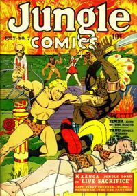 Cover Thumbnail for Jungle Comics (Fiction House, 1940 series) #7