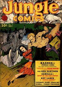 Cover Thumbnail for Jungle Comics (Fiction House, 1940 series) #9