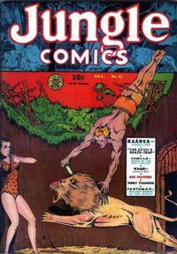 Cover Thumbnail for Jungle Comics (Fiction House, 1940 series) #12