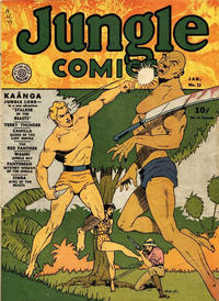 Cover Thumbnail for Jungle Comics (Fiction House, 1940 series) #13