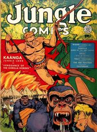 Cover Thumbnail for Jungle Comics (Fiction House, 1940 series) #14