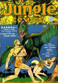 Cover Thumbnail for Jungle Comics (Fiction House, 1940 series) #17
