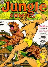 Cover Thumbnail for Jungle Comics (Fiction House, 1940 series) #18