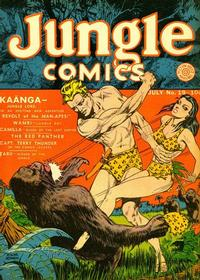 Cover for Jungle Comics (Fiction House, 1940 series) #19