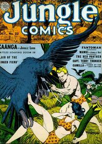 Cover Thumbnail for Jungle Comics (Fiction House, 1940 series) #22