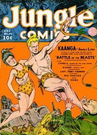 Cover Thumbnail for Jungle Comics (Fiction House, 1940 series) #24
