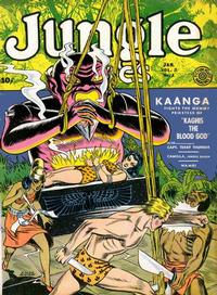 Cover Thumbnail for Jungle Comics (Fiction House, 1940 series) #v2#1 [25]