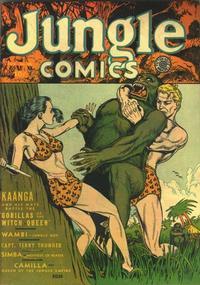 Cover Thumbnail for Jungle Comics (Fiction House, 1940 series) #26