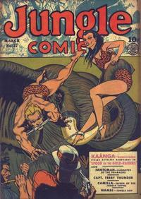 Cover Thumbnail for Jungle Comics (Fiction House, 1940 series) #27