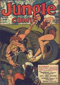 Cover Thumbnail for Jungle Comics (Fiction House, 1940 series) #27