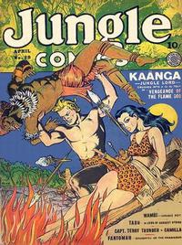 Cover Thumbnail for Jungle Comics (Fiction House, 1940 series) #28