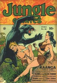 Cover Thumbnail for Jungle Comics (Fiction House, 1940 series) #30